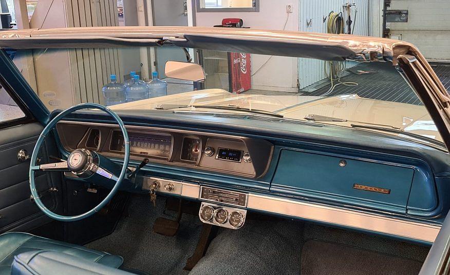 Chevrolet Impala Cab 66 396 BigBlock Fin Bil